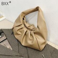 [BXX] sacs à bandoulière en cuir pour femmes 2021 hiver marque tendance sacs à main et sacs à main de luxe dames voyage sac à main HP406