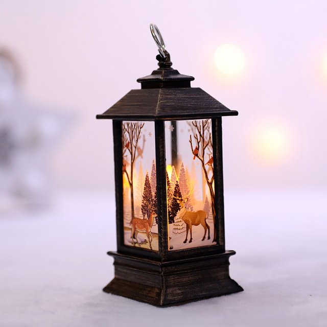 Christmas Decorations For Home Led 1 Pcs Christmas Candle With LED Tea Light Candles Christmas Tree Decoration Kerst Decoratie 3