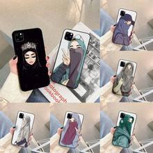 Muslim Islamic Gril Queen Phone Case For iphone 5s 6 7 8 11 12 plus xsmax xr pro mini se Cover Fundas Coque