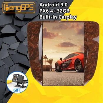 Автомобильный мультимедийный плеер для GMC Yukon / Chevrolet Tahoe silverado, Android, Tesla Style, стерео, PX6, GPS