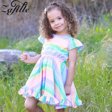 baby girl dress summer children clothing 2017 baby girl clothes cute newborn baby clothes roupas bebe infant kids dresses ZAFILLE Summer Dress Girl Short Sleeve Baby Girl Clothes Dot Printed Girls Dress Toddler Infant Baby Clothing Kids Cute Dresses