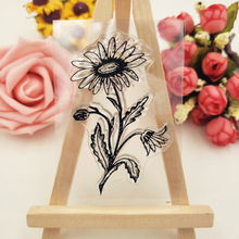 Stamp-Seal Office Stationery Decorative-Stamp Scrapbooking Flower School-Supplies 1pc