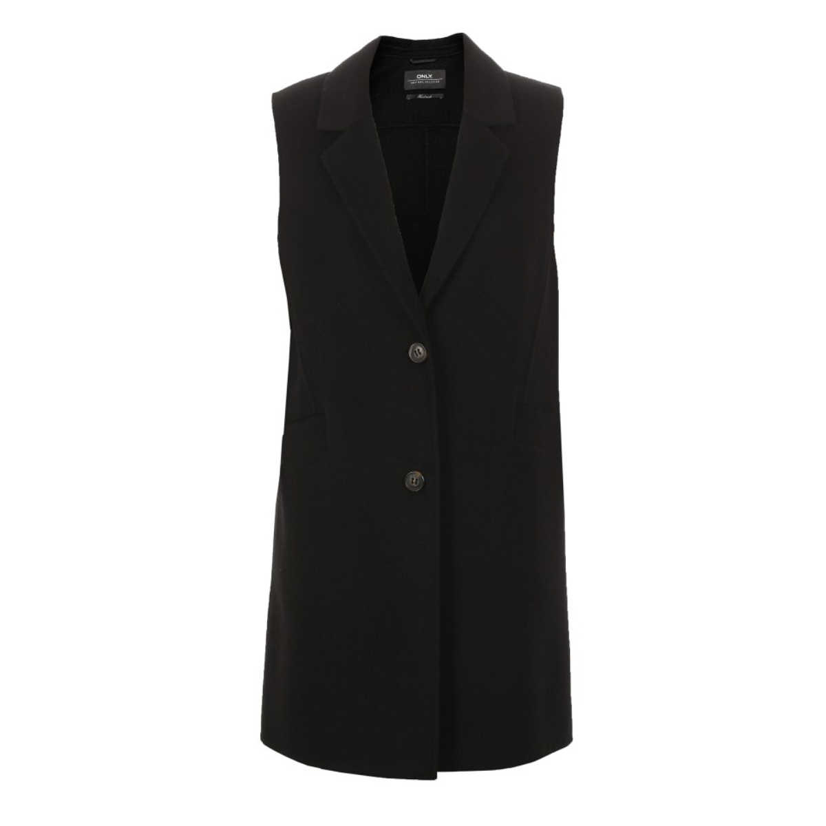 ONLY Women Mid-length Lapel Collar Wool Waistcoat |11834S501