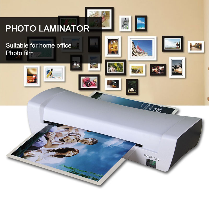 A4 laminator machine Hot/Cold 220W SL200 Document Paper Photo Artwork Laminating Home Film Sealing Fast Heating Premium