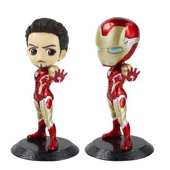 Q Posket nieskończoność wojna Iron Man figurka zabawka Tony Stark znak Iron mana 42 Avengers lalka model prezent dla dzieci tanie i dobre opinie Rasou Żołnierz gotowy produkt Wyroby gotowe Unisex 16cm No Fire 1 60 Zachodnia animiation Pierwsze wydanie Dorośli 2-4 lat