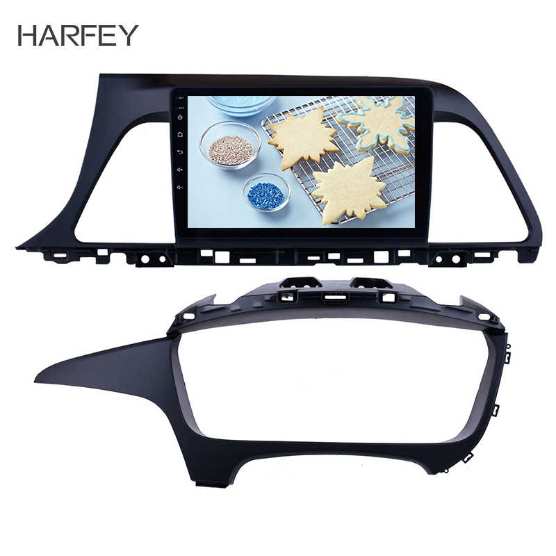 "Harfey 9"" Car Stereo Android 8.1 Radio for 2015 2016 2017 Hyundai Sonata Head Unit GPS Navigation Support Steering Wheel Control"