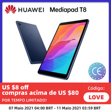 HUAWEI MatePad T8 2GB Ram 16GB Rom WIFI 8,0 Zoll Gesicht Entsperren 5100mAh Unterstützung MicroSD Karte Android10 globale Version Tablet PC