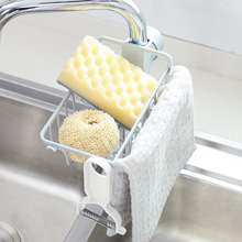 Drain Rack Holder Storage Organizer Drying Shelf for Kitchen Sink Faucet Sponge Soap Cloth JA55
