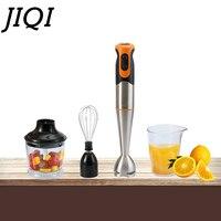 JIQI elektrikli yumurta çırpma mikser sıkacağı el blenderi sebze kıyma makinesi meyve suyu Chopper çırpıcı bebek maması Smoothie bardak