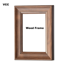 Retro Nature Solid Wooden Picture Frame 13X18 20X30cm A4 Wood Wall Hanging Photo Poster Frames For Pictures