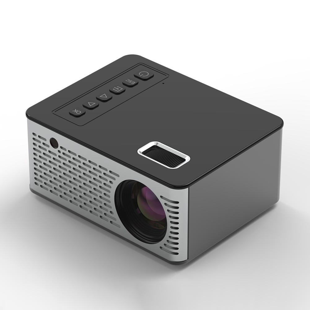 2020 najnowszy projektor HD 1080P LCD do 1080P bezprzewodowy WiFi wieloekranowy rzutnik 3D hdmi vga AV Beamer