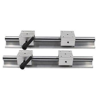 SBR16 2400mm 2450mm 2500mm 2550mm  CNC aluminum round linear guide rail and linear slide block SBR16UU