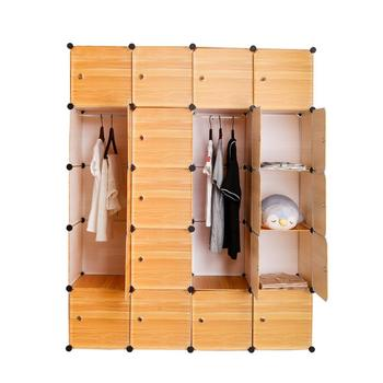 StoragecabinetMulti-function Rust-proof metal frame Cabinet DIY Assembly Easy Install Reinforcement shoe storage Wardrobe Closet