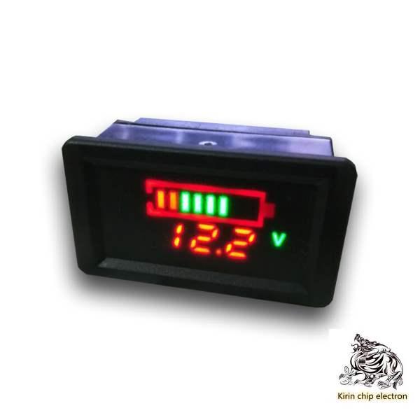 1pcs / Lot Waterproof Electric Vehicle Voltage Meter Electricity Meter Electric Vehicle Voltage Meter Electricity Meter Display