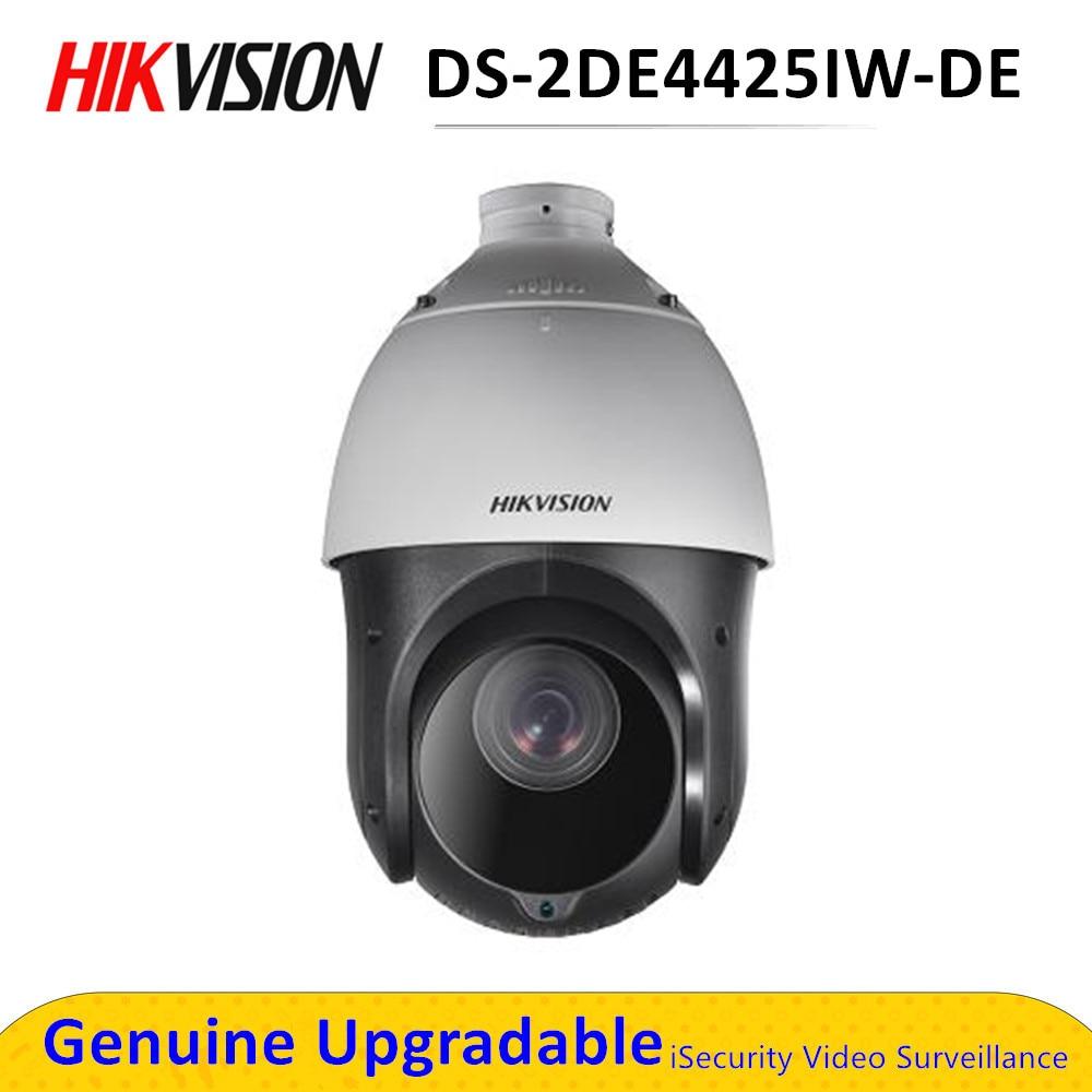 DS-2DE4425IW-DE 4MP 25x réseau IR PTZ caméra de vidéosurveillance Ultra-faible lumière H.265 POE 100m IR caméra de sécurité IP