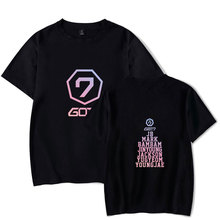 New Korean Fashion Kpop Shirts Got7 T Shirt Harajuku T-shirts JB Jackson Short Sleeve Tshir