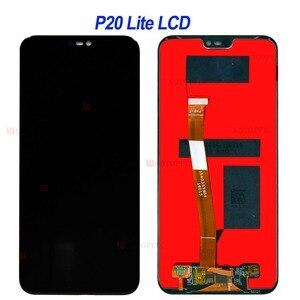 Image 3 - شاشة Lcd تعمل باللمس ، تم اختبارها بنسبة 100% درجة ، لهاتف Huawei P20 Lite P10 Lite