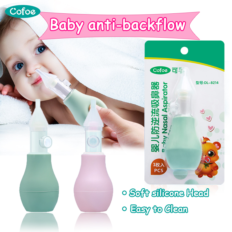 Cofoe Baby Nasal Aspirator Nose Cleaner For Newborn Baby Snot Absorb Household Nasal Suction Medical Device Baby Care Safety