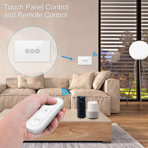 Tuya Smart Life RF WiFi Curtain Switch Gewiss with Remote for Electric Motorized Roller Blind Google Home Aelxa DIY Smart Home