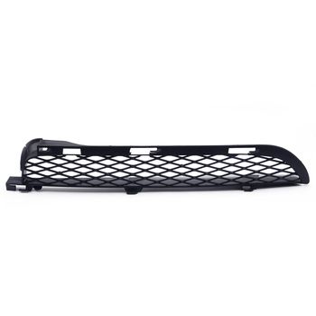 Black Left Front ABS Grilles Upper Bumper Mesh Grill Trim Moulding fit for BMW X5 E53 2004 2005 2006 image