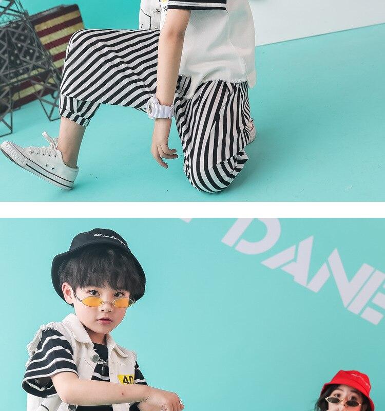 meninos hip hop-roupas de dança jazz das