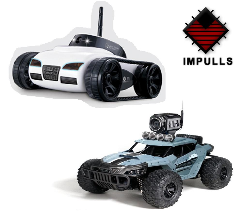 RC Car With Camera 777-270 WiFi Remote Control Toy Tank FPV Camera Support IOS Android IPhone IPad IPod Controller Gift FSWB