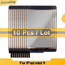 10 Pcs/Lot 100% Tested Touch For Ipad mini 4 A1538 A1550 Touch Screen Digitizer Assembly Replacement