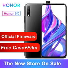 Original Honor 9X Smart Phone Kirin 810 Octa Core 6.59 inch Lifting Full Screen