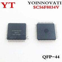 5pcs/lot SC56F8034V SC56F8034 8034 TQFP44 IC