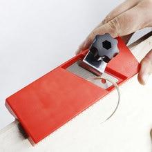 Manual Gypsum Board Woodworking Planer Manual Flat Square Plane Drywall Edge Plasterboard Wood 45 Degree Carpenter Chamfer Tool