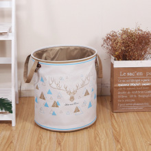 Large EVA Canvas Laundry Basket folding clothes storage box Sundries Storage barrel toy