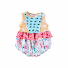 0-24M Toddler Girl Jumpsuits Newborn Baby Romper Infant Sunsuit Summer Clothes Outfits Twins Sister Match