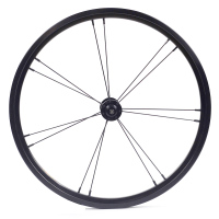 Silverock Alloy Front Wheel 16 1 3/8 349 Rim Brake 14H 2/3speed For Brompton 3sixty Custom Bicycle Wheelset Multi Color