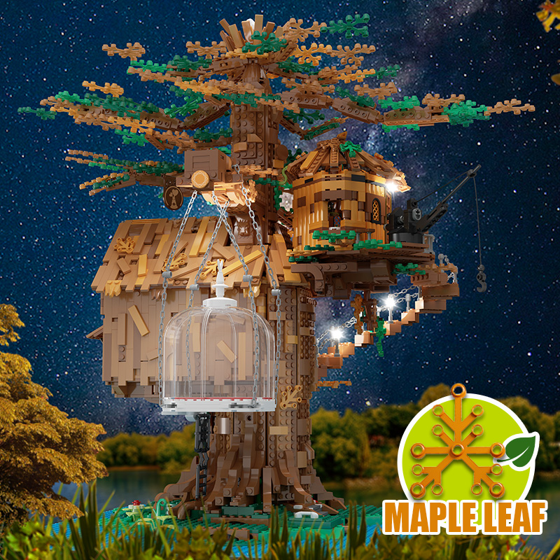 MOULD KING 16033 The Tree House Model Building Blocks