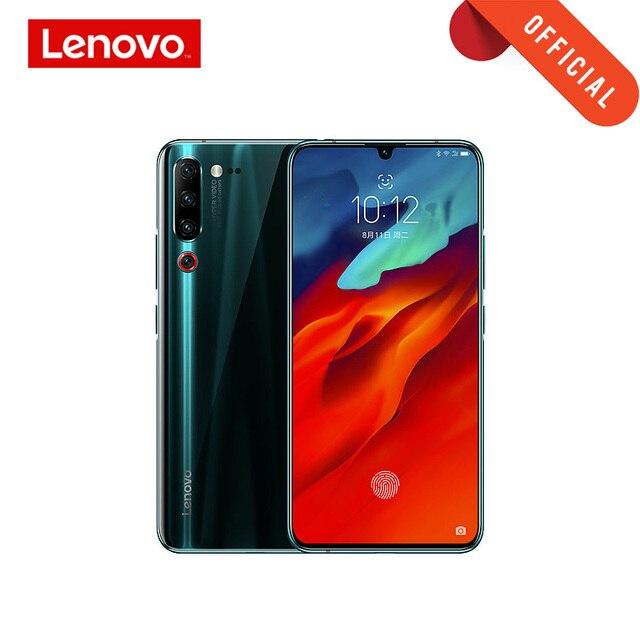 "Globale Rom Smartphone Lenovo Z6 Pro Snapdragon 855 Handy 8GB 128GB 2340*1080 6.39 ""OLED bildschirm 48MP AI 4 Kamera 4000mAh"