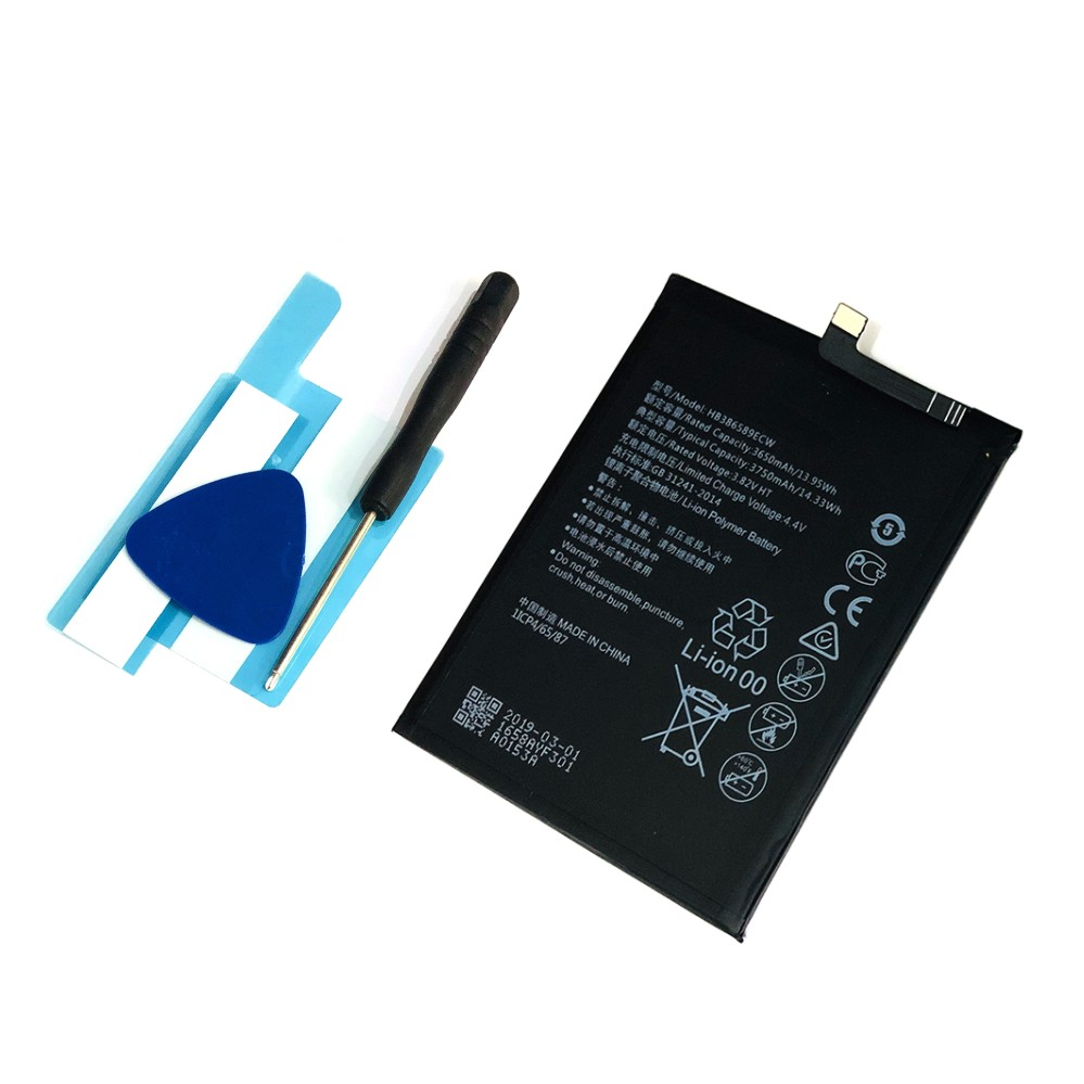 3750mAh HB386589ECW Mobile Phone Battery For Huawei Honor 8X /Nova 3/4/ Mate 20 Lite/ P10 Plus/ View 10 V10/ Honor Play