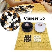 Weiqi – jeu de société en plastique, vieux jeu de société chinois, dames, cadeau pour enfants et amis, divertissement éducatif