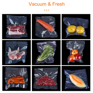 Image 3 - White Dolphin 4 Rolls Vacuum Bags For Food Storage Packing Household Best Food Vacuum Sealer Rolls 12 15 20 25 x 500CM