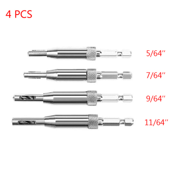 "5//64/"" 7//64/"" 9//64/"" 11//64/"" Self Center Hinge Drill Bits Door Furniture Hole Reamer"