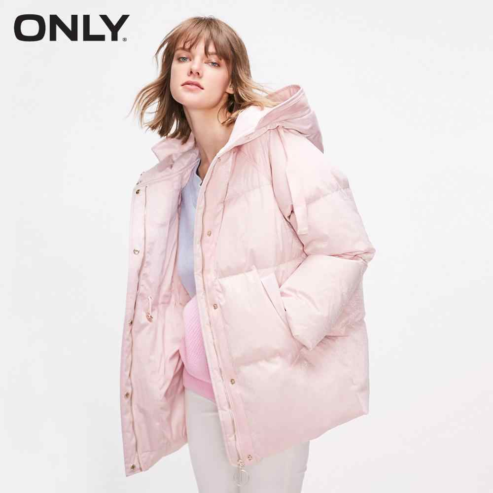 ONLY 2019 Autum Winter New Arrivals Mid-length 90% Down Jacket | 118312596