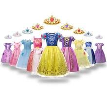 Kar beyaz elbise kızlar için saten prenses kostümleri 2020 yeni varış muhteşem çocuk giysileri 3-8T cadılar bayramı Cosplay frocks