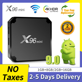 X96mini Smart Android TV Box Amlogic S905W Quad-Core 1G+8G 2.4G WIFI H.265 4K Media Player Android9.0 set-top Box QHDTV X96 mini new arrival h96 ps 3g 64g android tv box bt4 1 android 7 1 amlogic s912 octa core 2 4g 5 8g wifi h 265 4k media player