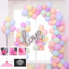 5M/lot Balloons Chain PVC Rubber Wedding Party Birthday Backdrop Decor Ballons Accessories Giobos Wholesale