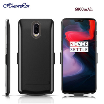 Newest External Battery Case 6800mAh Portable Backup Charger Cover Case for ONEPLUS 3 3T 5 5T