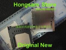 5PCS/ LOT DM1AA SF PEJ  Secure digital SD card holder 2.5mm pitch 9 + 3 2.9mm thick