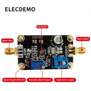 Image 2 - Модуль AD8367 усилитель с изменяемым коэффициентом усиления, полоса пропускания 500 МГц, 32 дБ усилитель усиления, Плата усилителя
