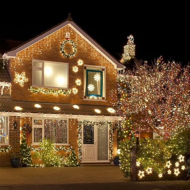 BHomify 10 メートル 100 Led ストリング花輪クリスマスツリーの妖精ライトルーチェ防水ホームガーデンパーティー屋外の休日の装飾