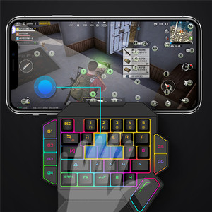Image 4 - PUBG Mobile Gamepad Controller Gaming Keyboard Mouse Converter For IOS Android Phone to PC Game Controller Holder Cooling Fan