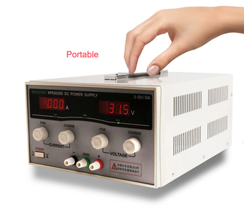 цена на 2 Pcs KPS3030D High precision High Power Adjustable LED Dual Display Switching DC power supply 220V EU 30V/30A