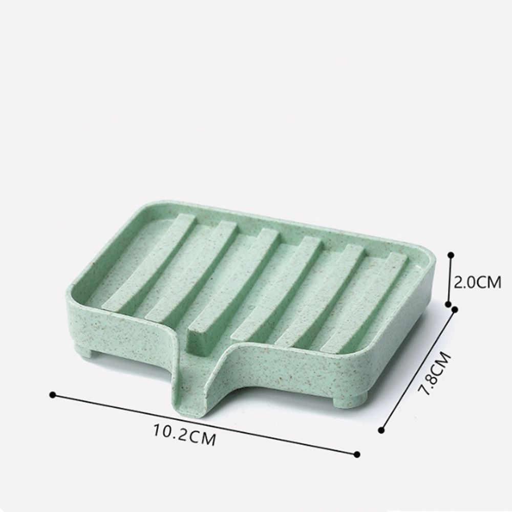 Pszenica słoma spustowy mydło Box stojaki kreatywne mydelniczka łazienkowa taca na odpady do przechowywania w domu akcesoria do przechowywania